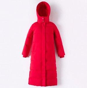 Женская  куртка, цвет красный
