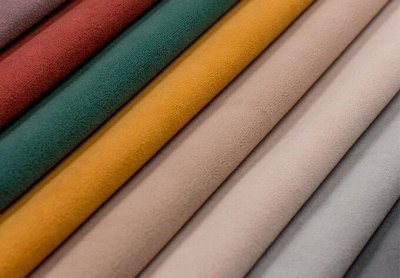 Обивка 41💎Мебельные ткани; Кожзам / Интерьер / Наполнитель — Ткань Мебельная LAMB <Имитация Нубук> (Микрофибра) — Ткани