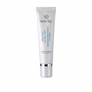 Крем для кожи вокруг глаз против пигментации NovAge Bright