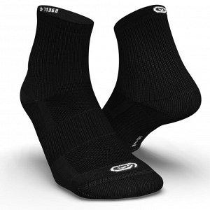 Носки для бега средней высоты comfort mid 2 пары черные kiprun