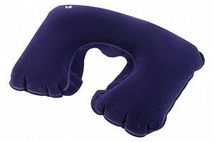 """Подушка для путешествий 43*27*0,1 см """"Фиолетовая"""""""