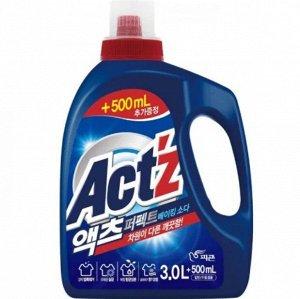 """""""Pigeon"""" """"ACT'Z"""" Концентрированный гель для стирки белья для стиральных машин с вертикальной загрузкой, с горизонтальной загрузкой (Baking soda) 3,5 л"""