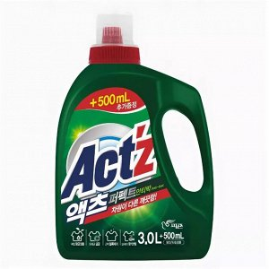 """""""Pigeon"""" """"ACT'Z"""" Концентрированный гель для стирки белья для стиральных машин с вертикальной загрузкой, с горизонтальной загрузкой (Anti bacteria) 3,5 л"""