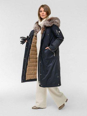 Пальто-парка зима