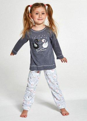 379/380 SWAN Пижама для девочек со штанами