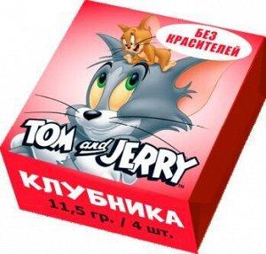 Жевательные конфеты Tom and Jerry Клубника 11,5 гр