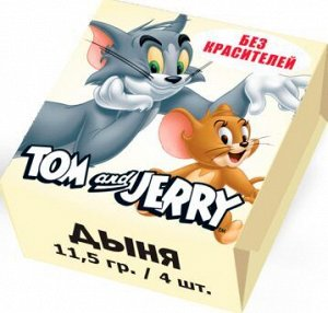 Жевательные конфеты Tom and Jerry Дыня 11,5 гр