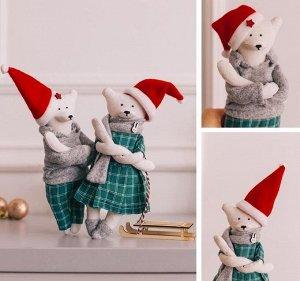 Мягкая игрушка «Кейлли и Лукас» набор для шитья, 22см