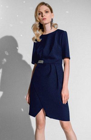 Платье темно-синее известной марки