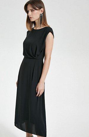 Платье ( размеры 42  Черный;  44  Черный;)