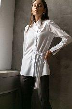 Блузка Дамиана №1.Цвет:белый