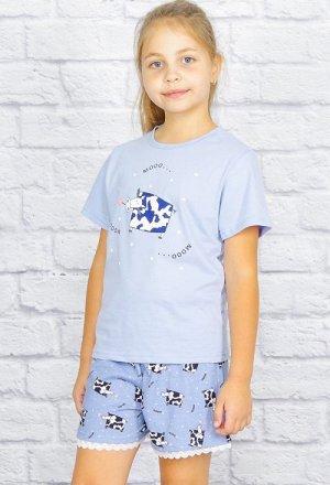 """Пижама """"Бурёнка"""", шорты"""