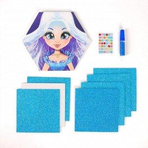 Набор для творчества «Волшебные аппликации: принцесса»