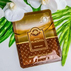 Маска-салфетка для лица с экстрактом плаценты 3W Clinic