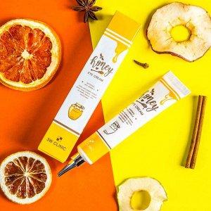 Питательный крем для кожи вокруг глаз с экстрактом меда и прополиса 3W Clinic Honey Eye Cream