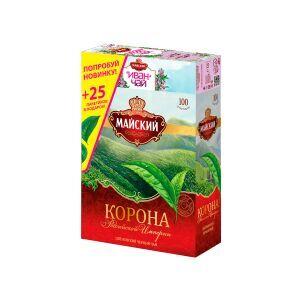 Чай Майский набор 100пак КРИ +25пак Иван-Чай с черным чаем и чабрецом