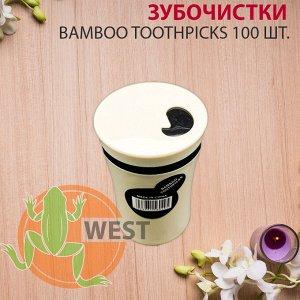 Зубочистки BAMBOO Toothpicks 100 шт.