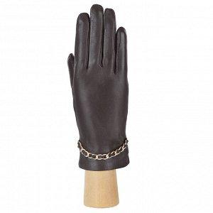 Перчатки, натуральная кожа, Fabretti 15.35-2 brown