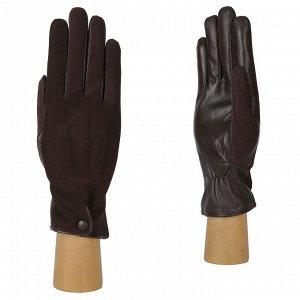 Перчатки, кожа, FABRETTI B5-2 brown