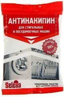 """СЕЛЕНА """"АНТИНАКИПИН"""" Ср-во для удаления накипи 100гр для стир. и посудом. машин"""