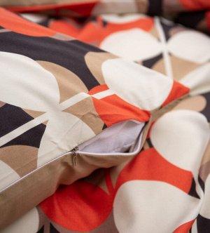 Комплект постельного белья Сатин Вышивка на резинке CNR107