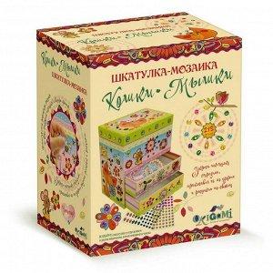 Набор для творчества ORIGAMI Шкатулка-мозаика Кошки-мышки29