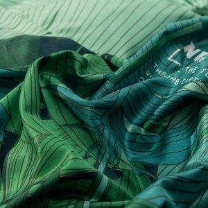 КПБ Сатин Роял Тенсель на резинке (2-спальный 4 наволочки)