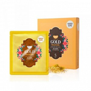 Koelf Koelf Gold & Royal Jelly Mask Гидрогелевая маска для лица с золотом и маточным молочком1 шт 30