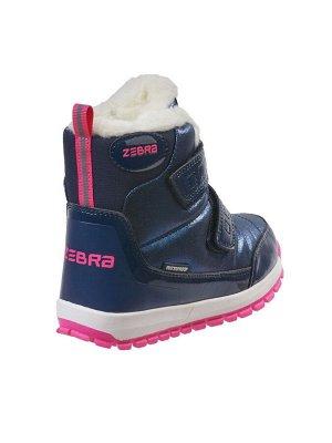 Ботинки школьные утепленные