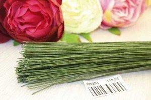 Проволока флористическая тейп (зеленый), 0,5мм*600мм,упак.0,5кг
