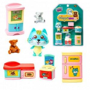 Игровой набор ABtoys Уютный дом Набор мини-мебели. Кухня924