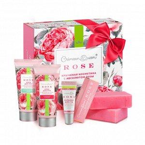 Подарочный набор с абсолютом розы QRIMEAN QUEEN ROSE