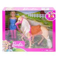 Игровой набор Mattel Barbie Наездница с лошадкой3