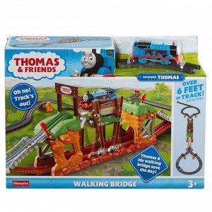 Игровой набор Mattel Thomas & Friends Трек-мастер Железная дорога Мост с переправой5