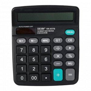Калькулятор настольный, 12-разрядный, KK-837