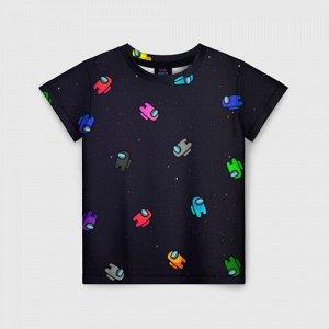 Детская футболка 3D «Among Us»