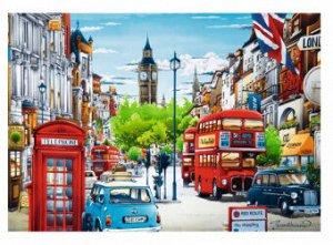 Пазлы 1000 Улица Лондона