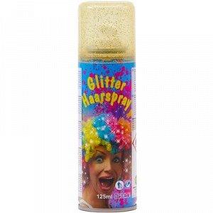 1501-5345 Спрей-краска для волос, золото блеск, 125 мл.