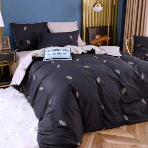 Комплект постельного белья Сатин Элитный Плюс CPSR011