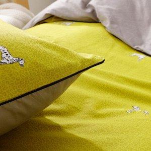 Комплект постельного белья Сатин Элитный Плюс на резинке CPSR017
