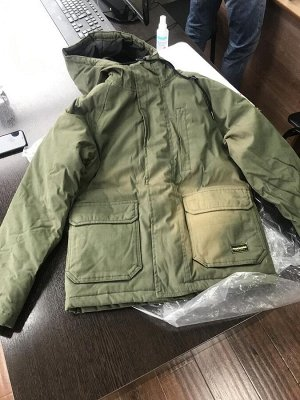 Парка CREW PARKA GRAPE LEAF