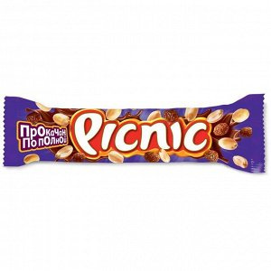 Шоколадный батончик Пикник Picnic,38 г