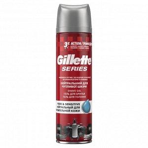 GILLETTE TGS Гель для бритья Pure&Sensitive (нейтральный для чувствительной кожи) 200мл