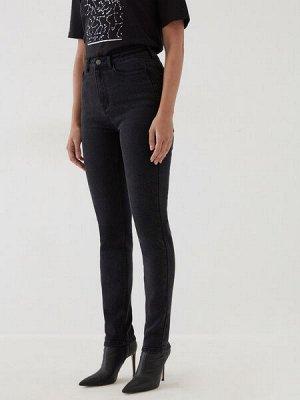 Брюки джинсовые женские темно-серый деним