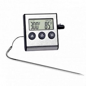 Термометр электронный выносной с термощупом