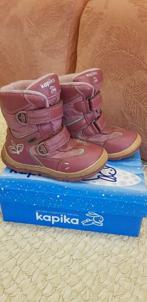 Зимние сапожки Капика