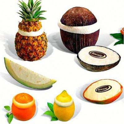 Шикарный выбор чизкейков🍰 — Мороженое во фруктах и в бокалах — Продукты питания