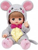 Mel-chan Doll - кукла в костюме мышки в наборе
