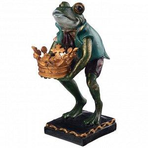 Подсвечник 'английская коллекция 'лягушка' 19,5*10,5*26 см