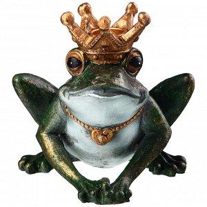 Подсвечник 'английская коллекция 'лягушка' 15*14*13,5 см